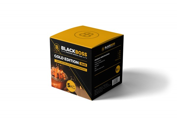 Blackboss Premium Shisha Coal 5kg